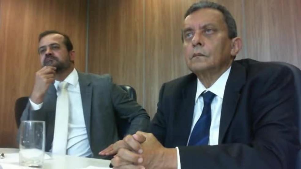 O ex-marqueteiro do PT João Santana em um dos depoimentos da delação premiada fechada com a PGR (Foto: Reprodução)